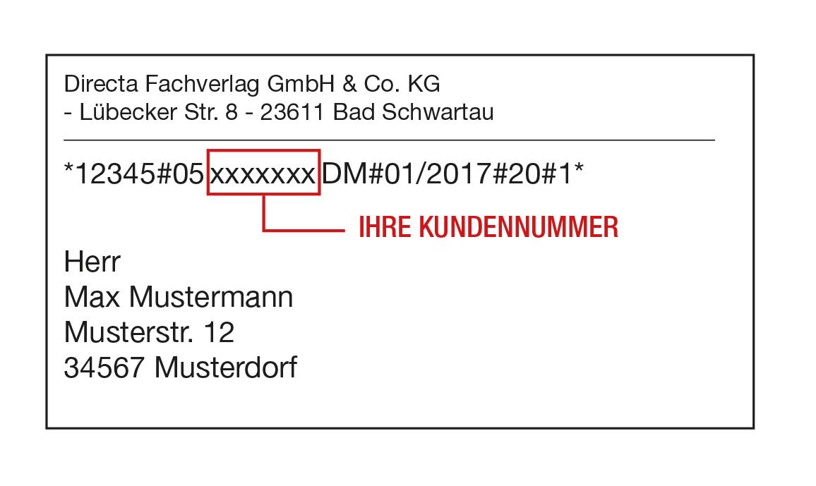 Kundennummer wo zeitschriften finde bei ich meine FAQ (Häufig
